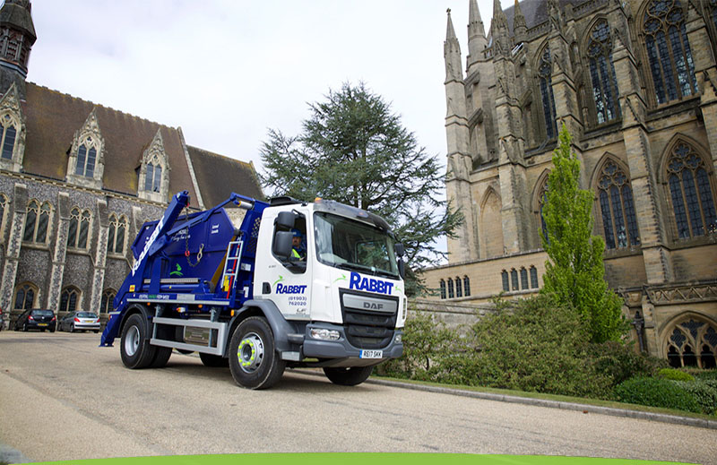Skip Hire Lorry In Sussex